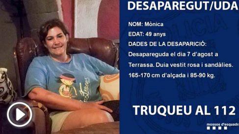 monica-asesinada-terrasa-playUn detenido por la desaparición de una mujer en Terrassa en agosto de 2018
