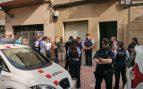 Operación policial por la detención de un hombre en Tarrasa en su implicación con la muerte de Mònica Borràs. Foto: Europa Press