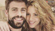 Shakira y Gerard Piqué muestran una imagen de sus hijos