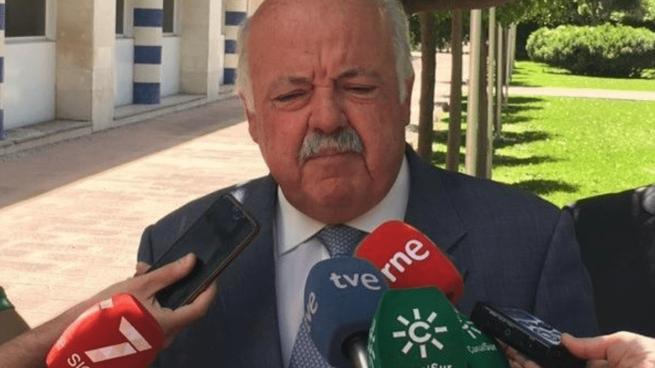 Jesús Aguirre, consejero de Salud de Andalucía @EP