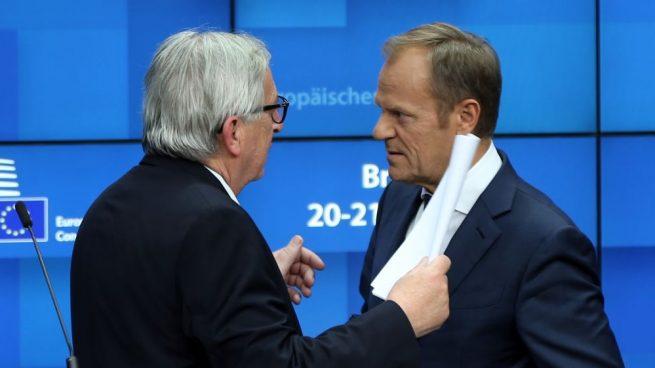 Jean Claude Juncker y Donald Tusk @Getty