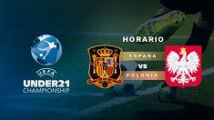Europeo sub-21 2019: España – Polonia   Horario del partido de fútbol del Europeo sub-21.