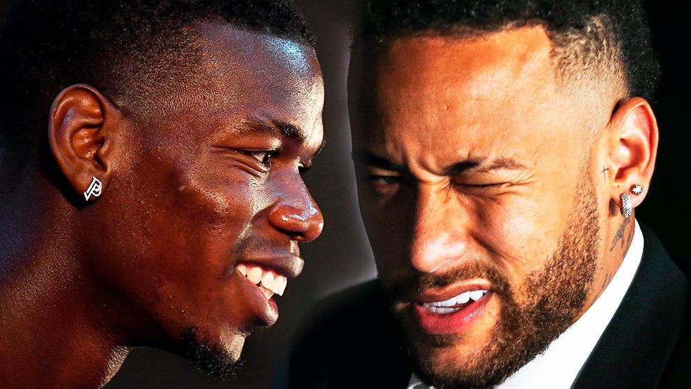 Neymar y Pogba, la dupla galáctica que es posible para el Real Madrid.