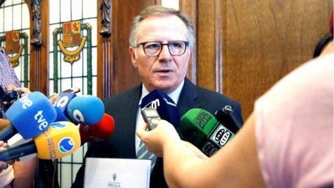 Eduardo de Castro atiende a los medios este viernes (Foto: EFE).