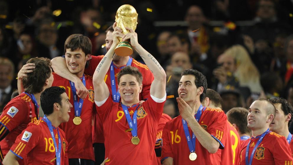 El increíble palmarés de Fernando Torres. (AFP)