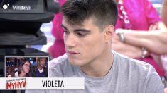 Violeta entra por teléfono en 'Mujeres y Hombres y Viceversa'