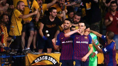 El Barcelona, campeón de Liga.