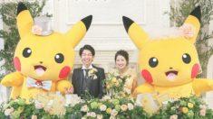 Casarse con Pikachu está de moda en Japón