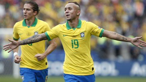 Brasil ya está en cuartos de la Copa América. (AFP)