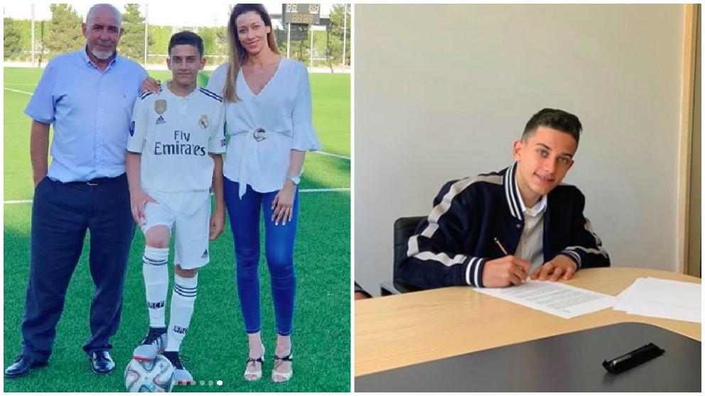 El hijo de Reyes ya viste la camiseta del Real Madrid.