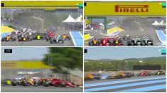 La increíble salida de Carlos Sainz.