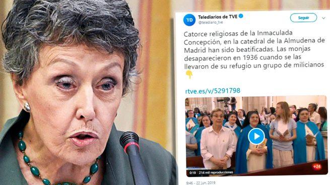 TVE blanquea como «desaparición» el asesinato de 14 monjas por republicanos en la Guerra Civil