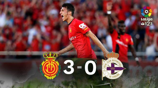 El Mallorca asciende tras una remontada de 'Primera'