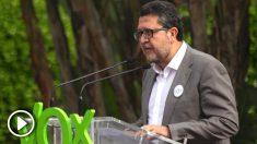 El presidente de Vox en Andalucía, Francisco Serrano.