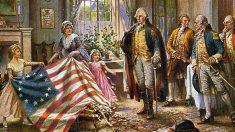 El 4 de julio de 1776 el presidente del Congreso Continental, John Hancock, firma la Declaración de Independencia de Estados Unidos.