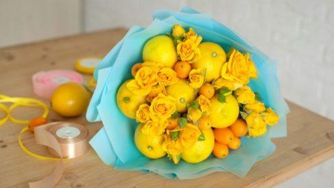 Aprende cómo hacer un ramo de novia con fruta