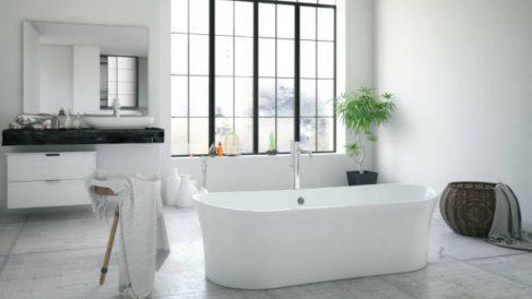 Pasos para saber cómo limpiar una bañera de acrílico