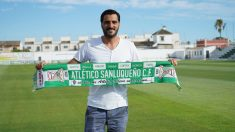 Dani Güiza con el Atlético Sanluqueño (Atleticosanluquenocf.com)