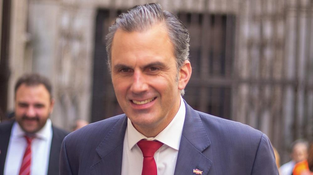 Javier Ortega Smith. (Foto. Vox)