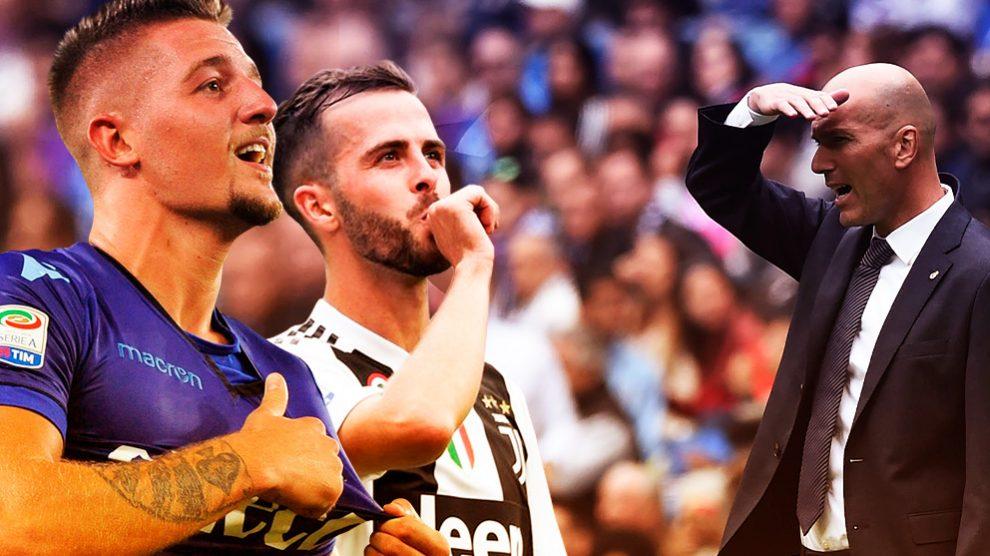 Zidane ha dicho «no» a Pjanic y Milinkovic-Savic.