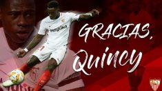 Quincy Promes deja el Sevilla (@SevillaFC)