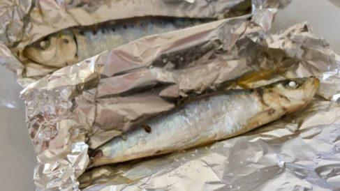 Receta de sardinas en papillote