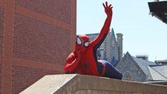 Facebook: Spiderman tiene un nuevo trabajo de limpieza de tejados