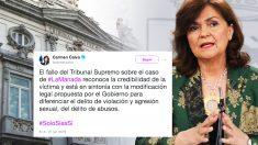 Supremo Carmen Calvo