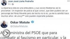 'Tuit' del portavoz de Vox en la Asamblea de Murcia sobre Dolores Delgado.