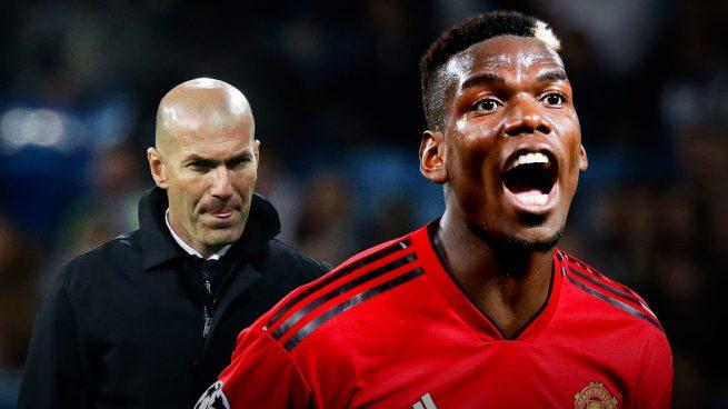 Pogba solo quiere irse al Real Madrid