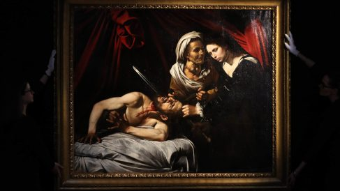 «Judith y Holofornes» de Caravaggio @AFP