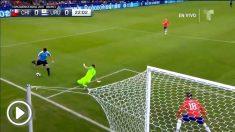 Luis Suárez dejó una imagen para la historia en el Chile – Uruguay.