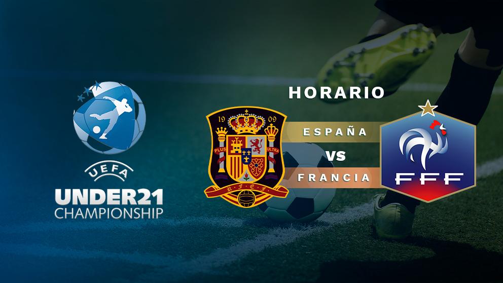 Europeo sub-21: España – Francia | Horario del partido de fútbol del Europeo sub-21.