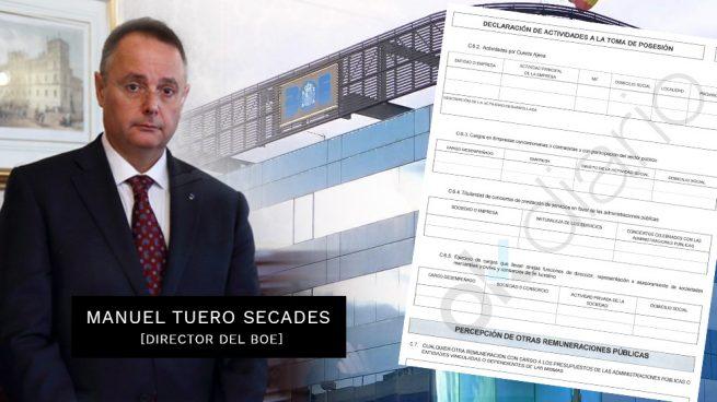 Manuel Tuero Secades, director del BOE