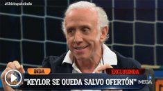 Keylor Navas continuará en el Real Madrid, pese a haberse despedido.
