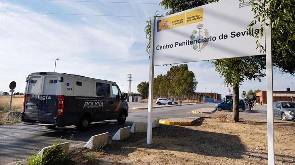 Centro Penitenciario Sevilla 1, en el término municipal de Mairena del Alcor. Foto: EFE