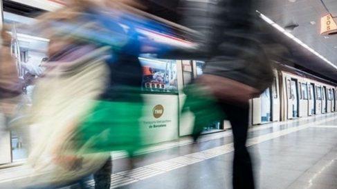 Metro de Barcelona, donde fueron 'cazados' los carteristas.