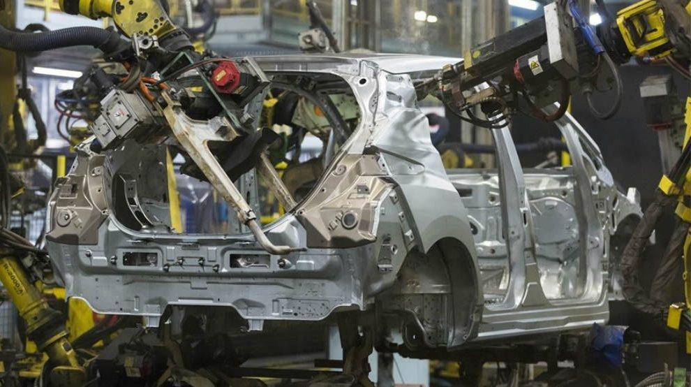 Fábrica de automóviles de Nissan
