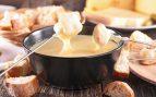 Fondue suiza de queso