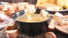 Receta de Fondue suiza de queso