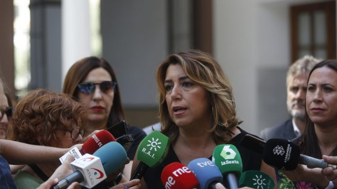 Susana Díaz, líder del PSOE en Andalucía @EP