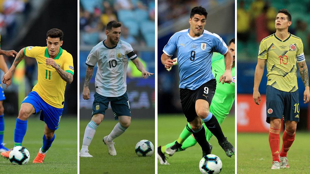 Ya-están-definidios-los-cuartos-de-final-de-la-Copa-América-(Getty-y-AFP)