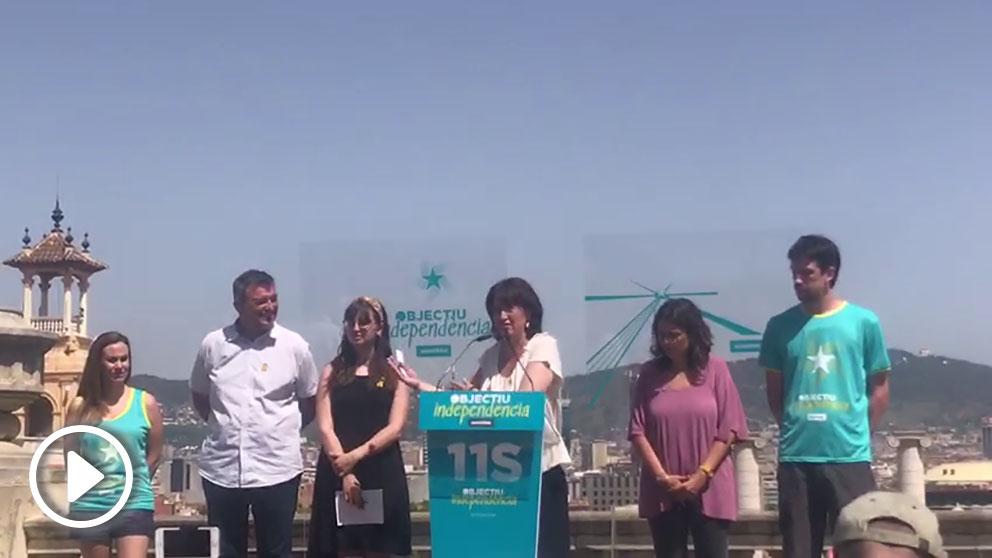 La presidenta de la Asamblea Nacional Catalana (ANC), Elisenda Paluzie. @OKDIARIO