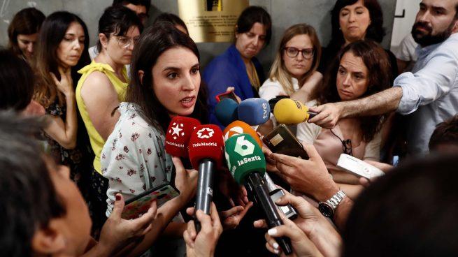 Irene Montero, portavoz de Podemos. @Getty