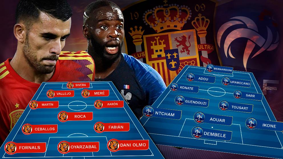 España busca un puesto en la final ante Francia.