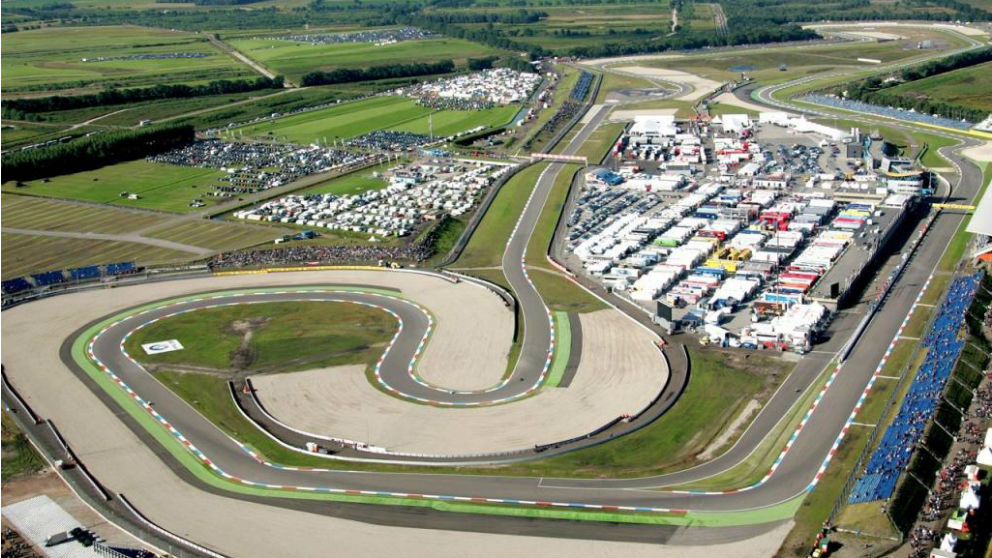 Así es el circuito de Assen, donde se celebra el MotoGP Gran Premio de Holanda 2019. (motogp.com)