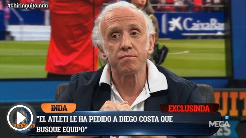 Diego Costa tiene que buscar una salida del Atlético de Madrid.