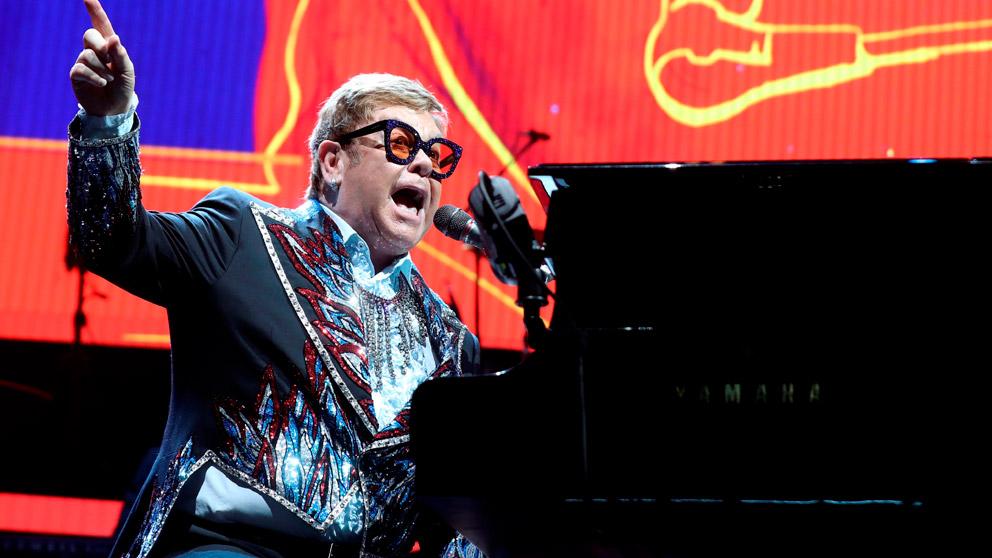 Elton John en Madrid (Foto: EFE)