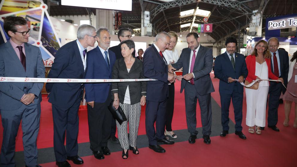 El Ministro de Fomento del Gobierno de España, José Luis Ábalos, ha inaugurado esta mañana la 21ª edición de la Feria Líder de Logística, Transporte, Intralogística y Supply Chain del Sur de Europa (SIL 2019). (Foto: SIL)