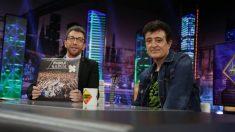 Manolo García ayer en 'El Hormiguero'
